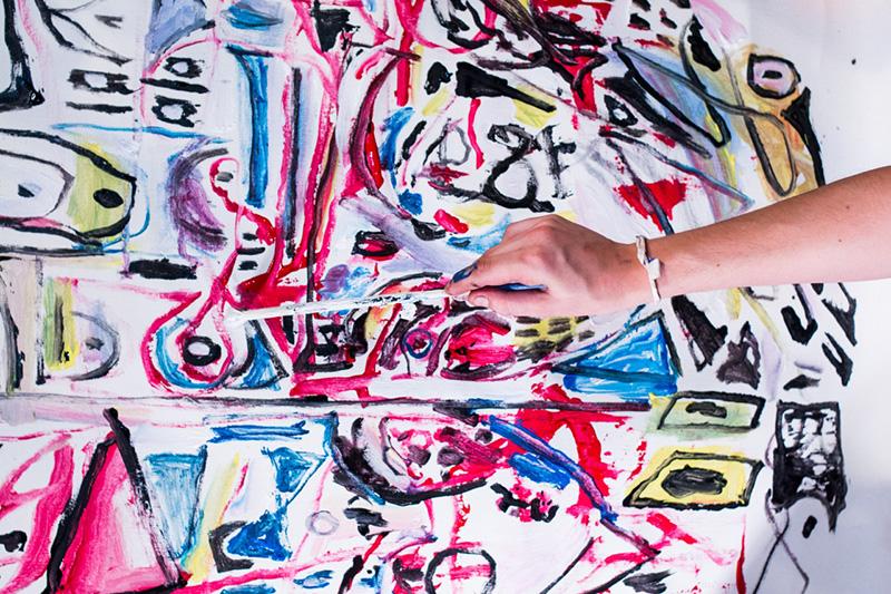 Στο μυαλό ενός ζωγράφου