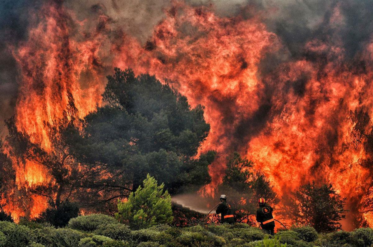 Οι επιπτώσεις της κλιματικής αλλαγής στη συμπεριφορά της φωτιάς