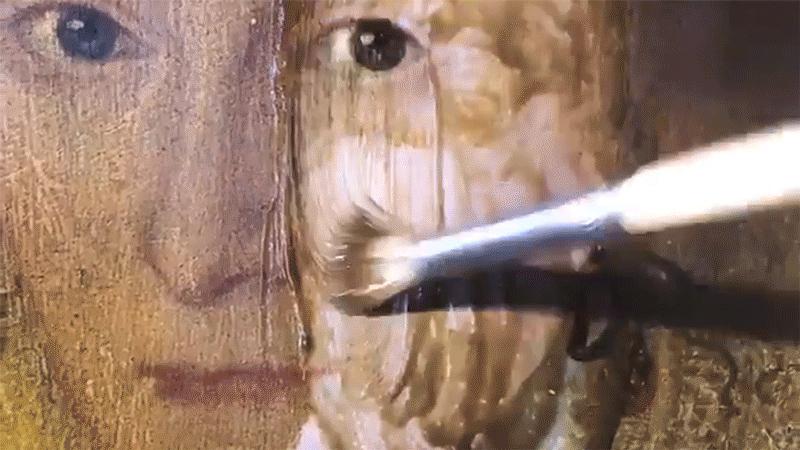 Η εντυπωσιακή αποκάλυψη ενός πίνακα 200 ετών