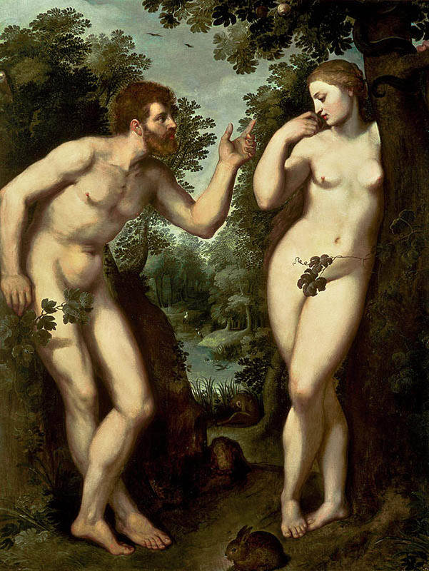Adam and Eve Rubens