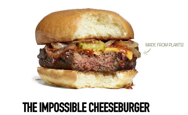 impossible nocow cheeeburger